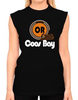 Coos Bay - State T-Shirt - Sleeveless-Womens