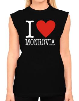 I Love Monrovia Classic T-Shirt - Sleeveless-Womens