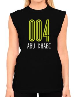 Iso Code Abu Dhabi - Retro T-Shirt - Sleeveless-Womens