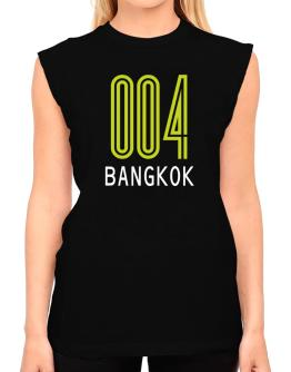 Iso Code Bangkok - Retro T-Shirt - Sleeveless-Womens
