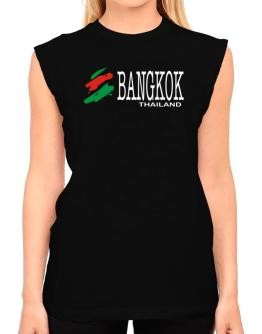 Brush Bangkok T-Shirt - Sleeveless-Womens