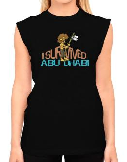I Survived Abu Dhabi T-Shirt - Sleeveless-Womens