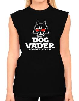 Dog Vader : Border Collie T-Shirt - Sleeveless-Womens