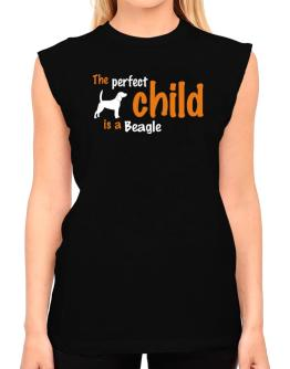 The Perfect Child Is A Beagle T-Shirt - Sleeveless-Womens