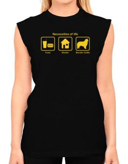 Necessities Of Life T-Shirt - Sleeveless-Womens