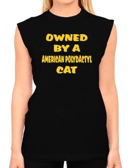 Owned By S American Polydactyl T-Shirt - Sleeveless-Womens