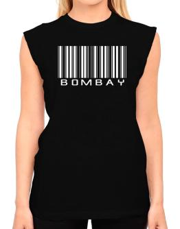 Bombay Barcode T-Shirt - Sleeveless-Womens