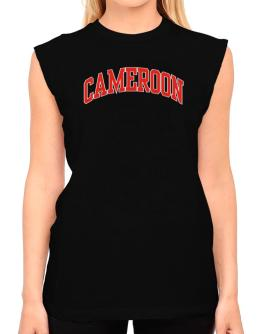 Cameroon - Simple T-Shirt - Sleeveless-Womens
