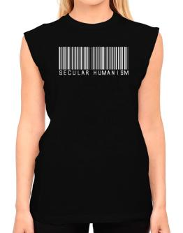 Secular Humanism - Barcode T-Shirt - Sleeveless-Womens