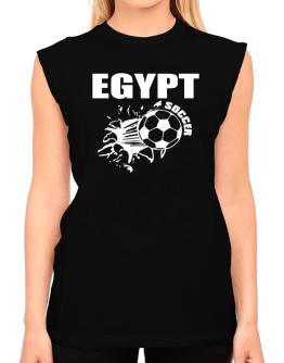 All Soccer Egypt T-Shirt - Sleeveless-Womens