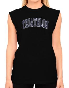Triathlon Athletic Dept T-Shirt - Sleeveless-Womens