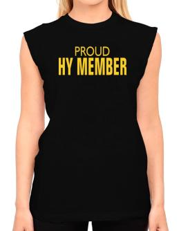 Proud Hy Member T-Shirt - Sleeveless-Womens