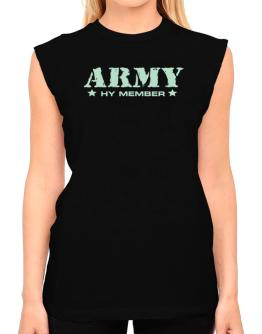 Army Hy Member T-Shirt - Sleeveless-Womens