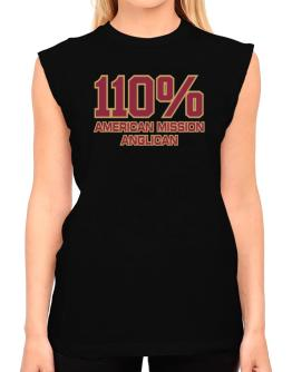110% American Mission Anglican T-Shirt - Sleeveless-Womens