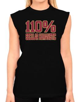 110% Secular Humanistic T-Shirt - Sleeveless-Womens