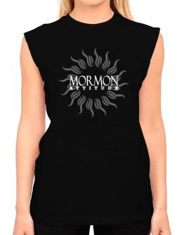 Mormon Attitude - Sun T-Shirt - Sleeveless-Womens