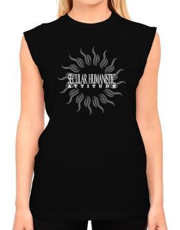 Secular Humanistic Attitude - Sun T-Shirt - Sleeveless-Womens