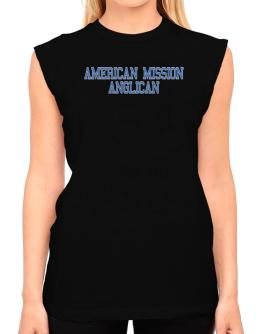 American Mission Anglican - Simple Athletic T-Shirt - Sleeveless-Womens