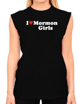 I Love Mormon Girls T-Shirt - Sleeveless-Womens