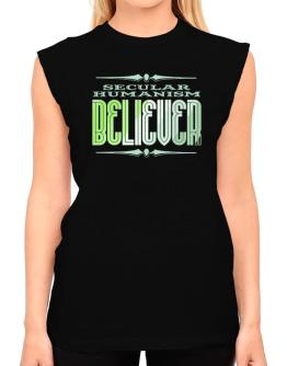 Secular Humanism Believer T-Shirt - Sleeveless-Womens