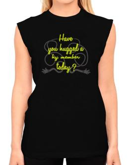 Have You Hugged A Hy Member Today? T-Shirt - Sleeveless-Womens
