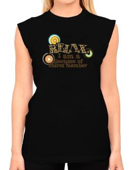 Relax, I Am A Disciples Of Chirst Member T-Shirt - Sleeveless-Womens