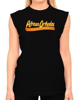 African Orthodox For A Reason T-Shirt - Sleeveless-Womens