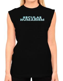Secular Humanism T-Shirt - Sleeveless-Womens