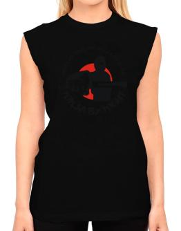 American Mission Anglican By Day, Ninja By Night T-Shirt - Sleeveless-Womens