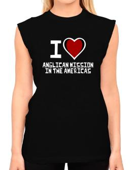 I Love Anglican Mission In The Americas T-Shirt - Sleeveless-Womens