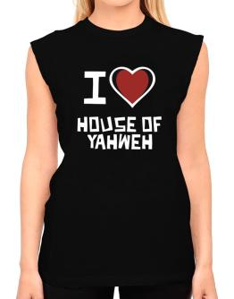 I Love House Of Yahweh T-Shirt - Sleeveless-Womens