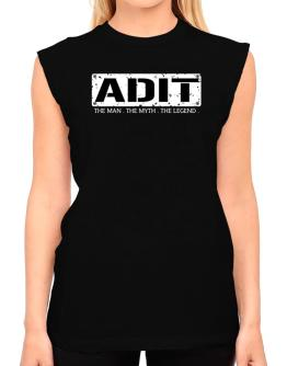 Adit : The Man - The Myth - The Legend T-Shirt - Sleeveless-Womens