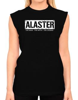 Alaster : The Man - The Myth - The Legend T-Shirt - Sleeveless-Womens