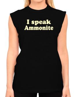I Speak Ammonite T-Shirt - Sleeveless-Womens