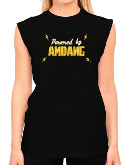 Powered By Amdang T-Shirt - Sleeveless-Womens