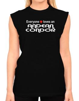 Everyones Loves Andean Condor T-Shirt - Sleeveless-Womens
