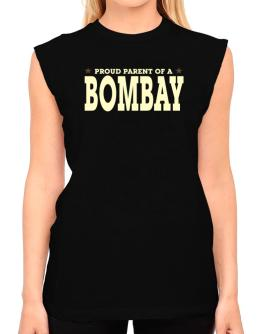 PROUD PARENT OF A Bombay T-Shirt - Sleeveless-Womens