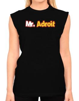 Mr. Adroit T-Shirt - Sleeveless-Womens