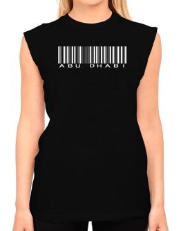 Abu Dhabi Barcode T-Shirt - Sleeveless-Womens