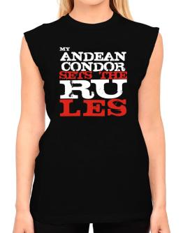 My Andean Condor Sets The Rules T-Shirt - Sleeveless-Womens