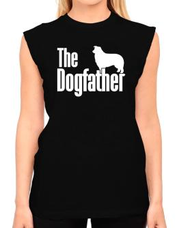 The dogfather Border Collie T-Shirt - Sleeveless-Womens