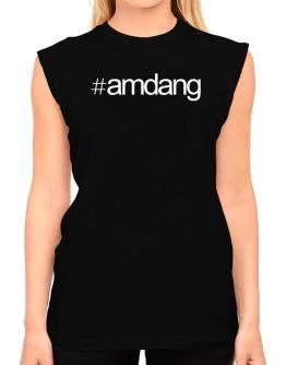Hashtag Amdang T-Shirt - Sleeveless-Womens