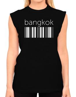 Bangkok barcode T-Shirt - Sleeveless-Womens
