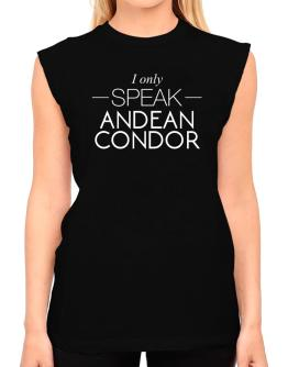 I only speak Andean Condor T-Shirt - Sleeveless-Womens