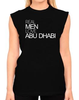 Real men love Abu Dhabi T-Shirt - Sleeveless-Womens