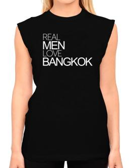 Real men love Bangkok T-Shirt - Sleeveless-Womens
