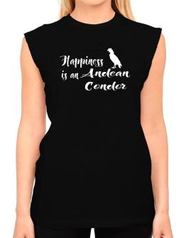 Happiness is a Andean Condor T-Shirt - Sleeveless-Womens