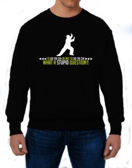 To do Tai Chi or not to do Tai Chi, what a stupid question!! Sweatshirt