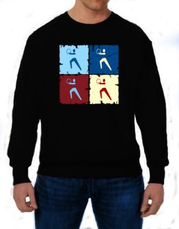Tai Chi - Pop Art Sweatshirt