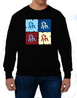 Wrestling - Pop Art Sweatshirt